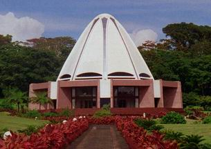 The Bahai House of Worship Samoa